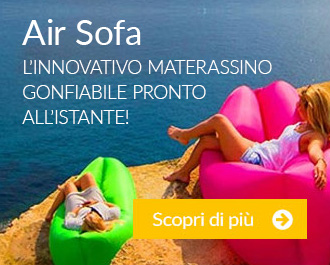 Air Sofa: L'innovativo materassino gonfiabile pronto all'istante!